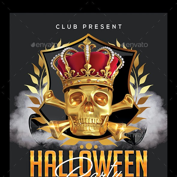 costume party and halloween club party flyer templates page 7