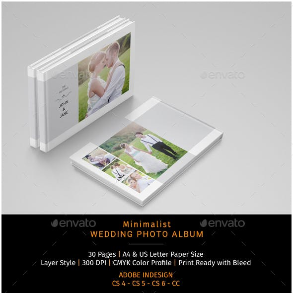 Wedding Album Template Graphics Designs Templates