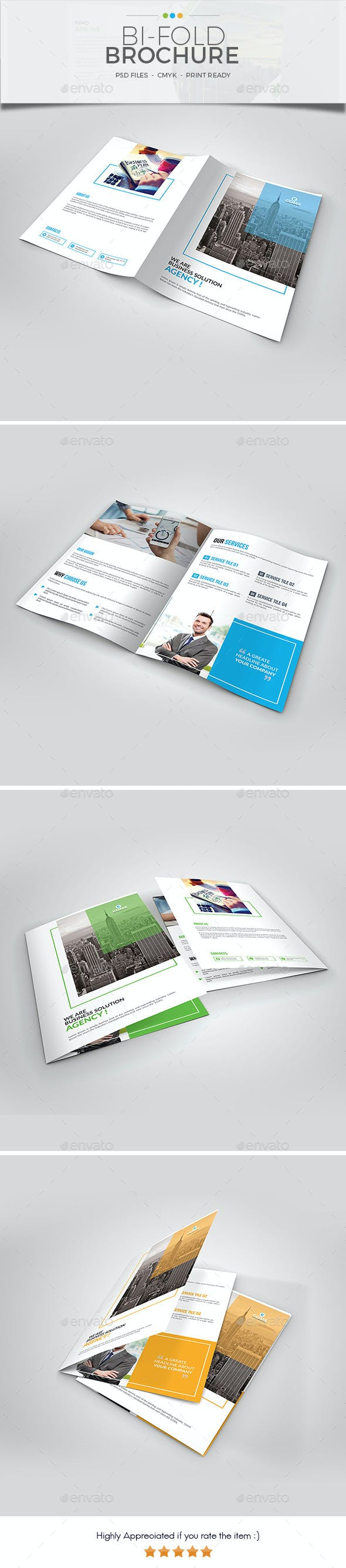 bi fold brochure template 02 by big art graphicriver