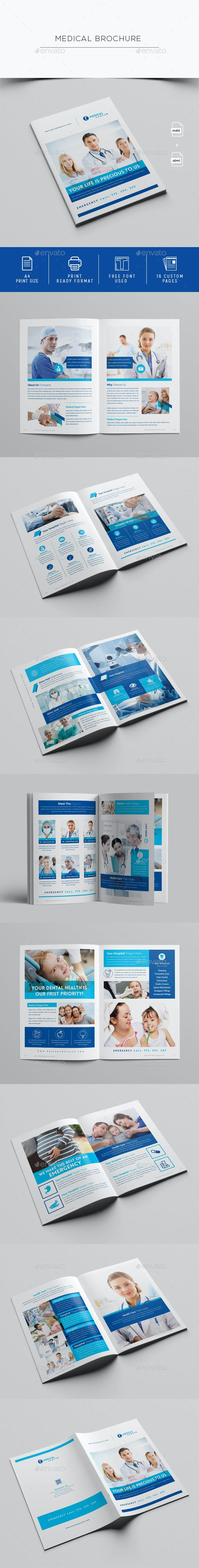 medical brochure template by designsoul14 graphicriver