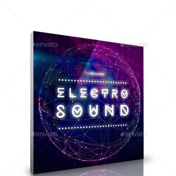 Electro Sound - Music Web Cover Template by djjeep | GraphicRiver