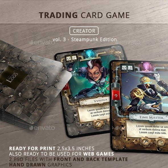 trading card game creator vol 3 by survivor graphicriver