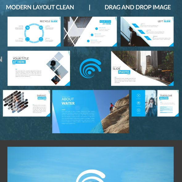 water presentation templates from graphicriver
