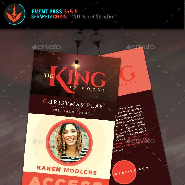 Media Pass Graphics Designs Templates From Graphicriver