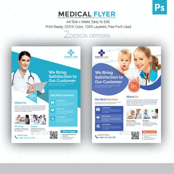 hospital flyer graphics designs templates from graphicriver page 2