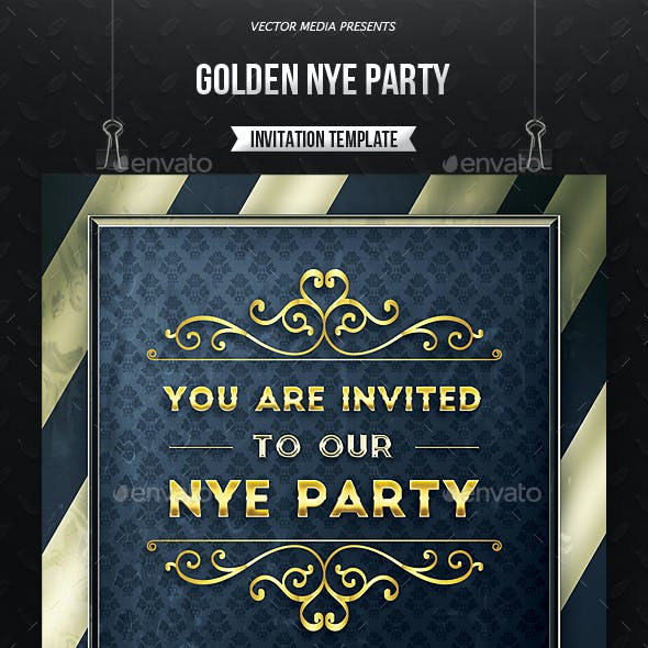 nye invitation graphics designs templates from graphicriver
