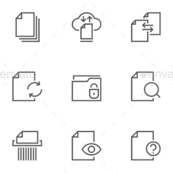 Media Icons from GraphicRiver