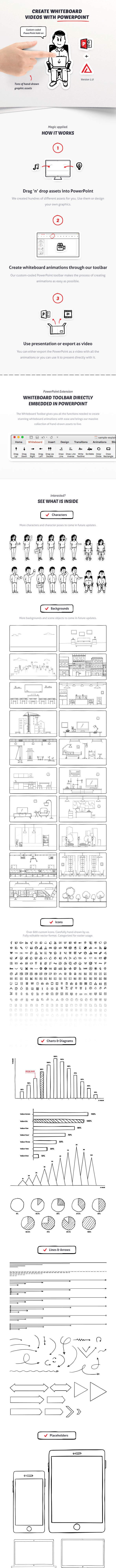 whiteboard powerpoint toolkit by ercn1903 graphicriver