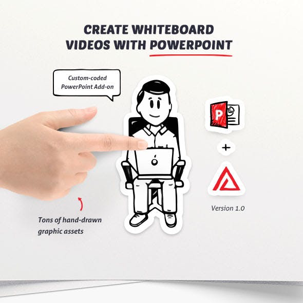 whiteboard animation graphics designs template