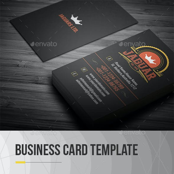 Vintage business card templates designs from graphicriver vintage business card accmission Gallery