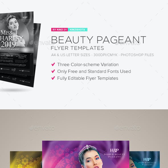 miss world graphics designs templates from graphicriver