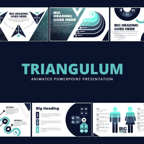 Triangulum Animated Powerpoint Presentation By Adraft Graphicriver