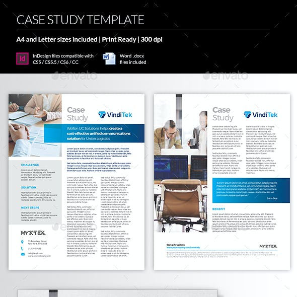 Case Study Newsletter Templates From Graphicriver