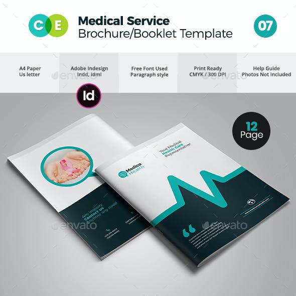 Medical Booklet Graphics Designs Templates From Graphicriver