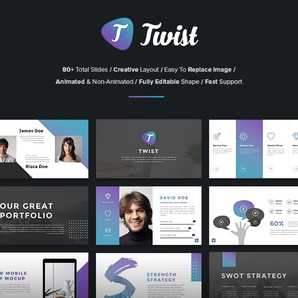 80 Ppt Graphics, Designs & Templates from GraphicRiver (Page 5)