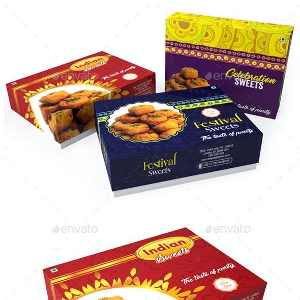 Sweet Box Packaging Template Vol 01