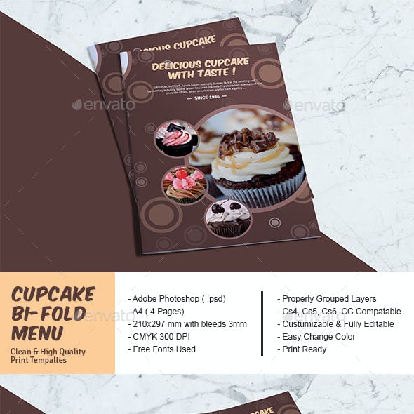 bifold menu graphics designs templates from graphicriver