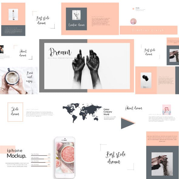 dream simple presentation templates from graphicriver