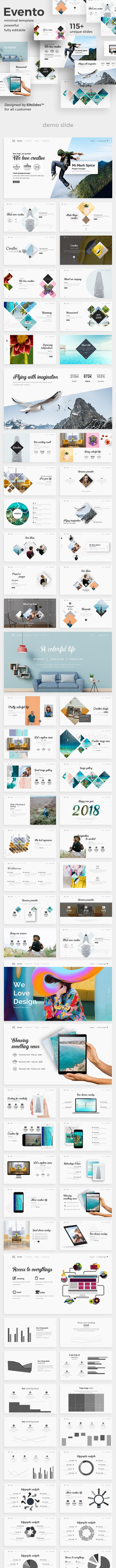 evento creative powerpoint template by 69slides graphicriver