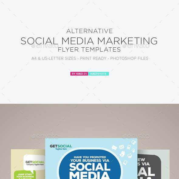 social media marketing flyer graphics designs templates