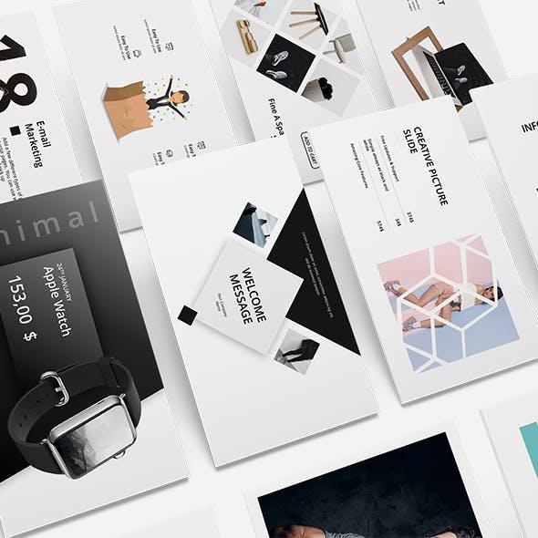 White Minimal Presentation Templates From Graphicriver