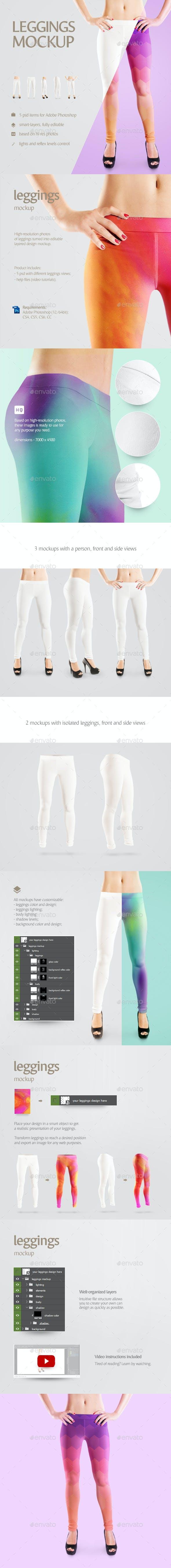 leggings mockup by rebrandy graphicriver