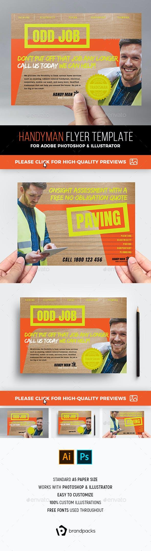 handyman flyer commerce flyers