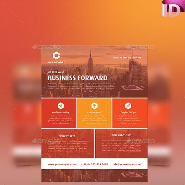 corporatebusiness flyer template 05