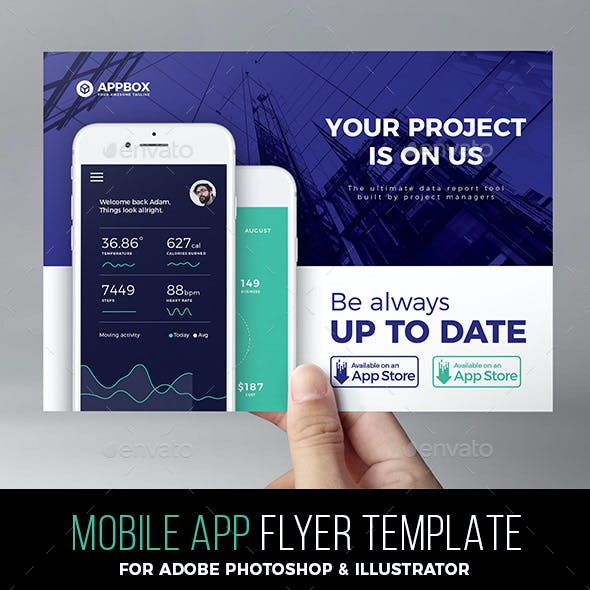 app flyers graphics designs templates from graphicriver