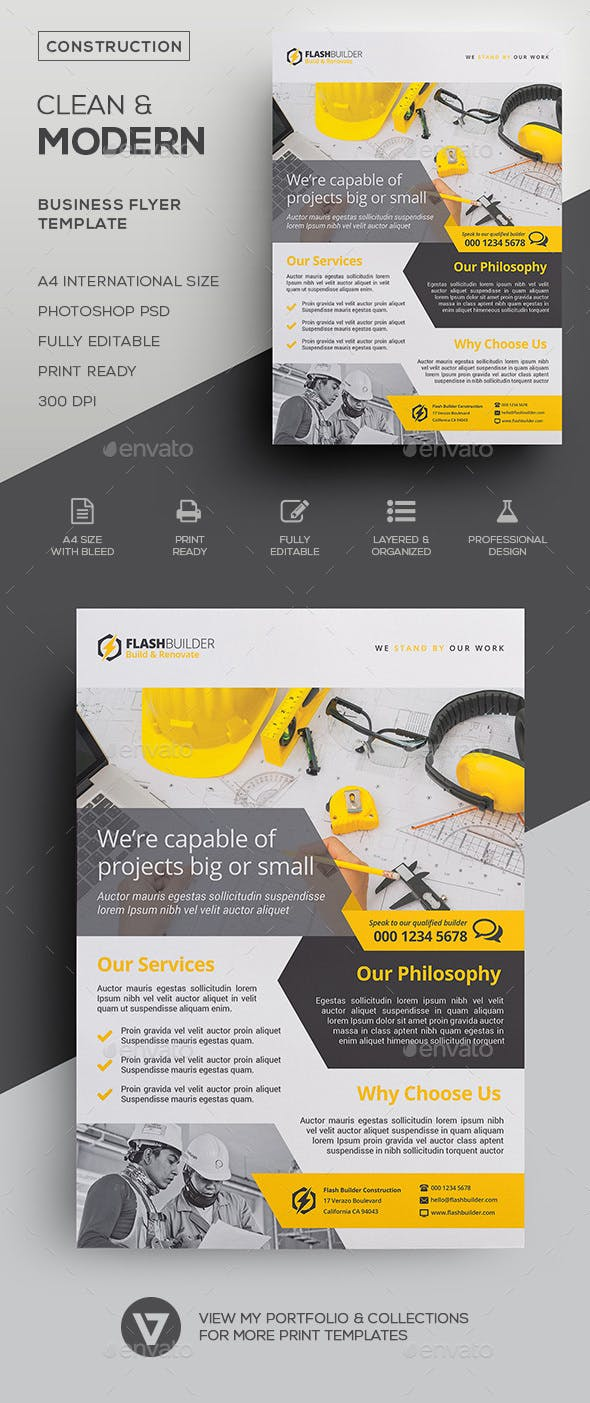construction flyer by verazo graphicriver