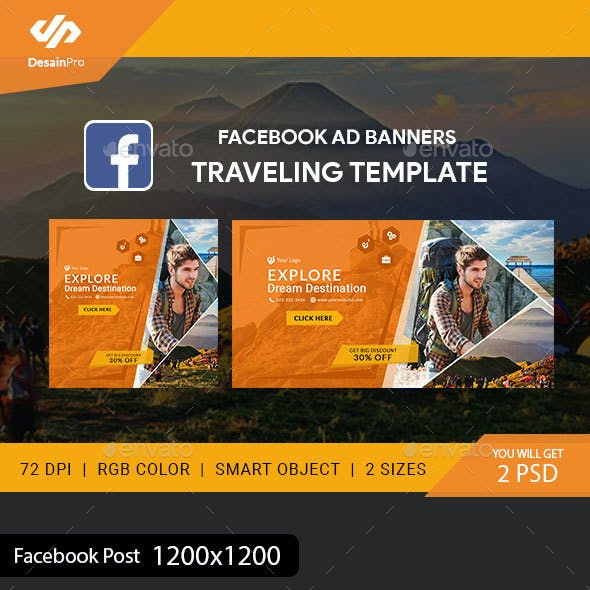 Facebook Ad Graphics Designs Templates From Graphicriver