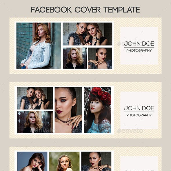 Facebook Timeline Cover Template Photography CW002