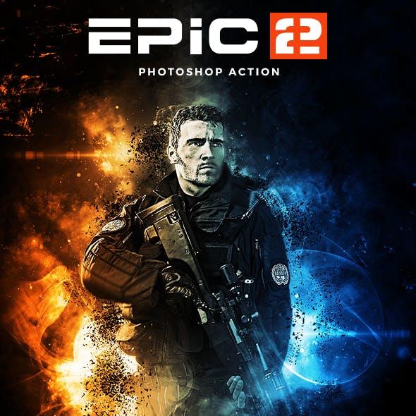 Epic 2 Photoshop Action