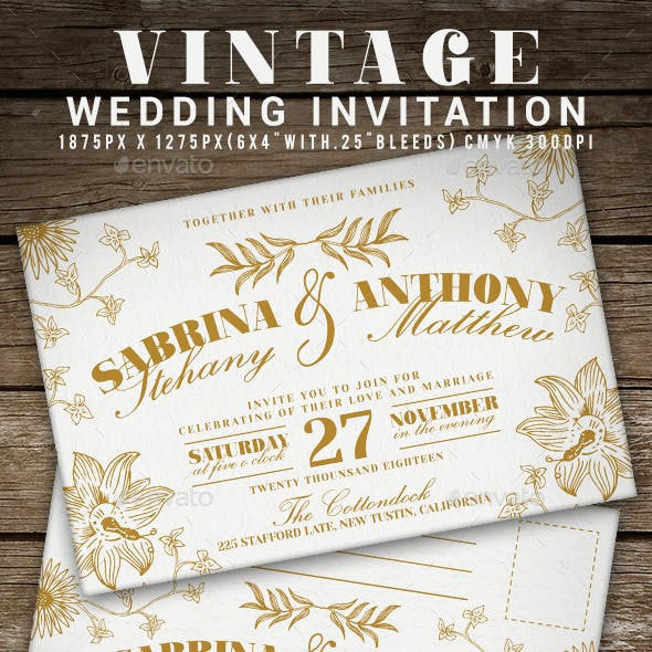 Print Invitation Templates From GraphicRiver Page 5