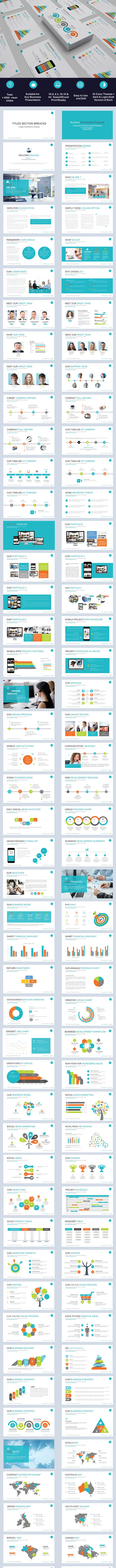 Business Proposal Powerpoint Template By Gharakdesign Graphicriver