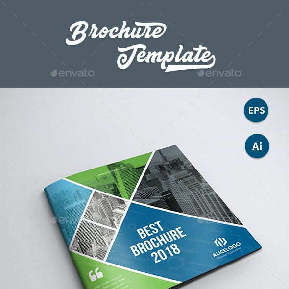 4 pages brochure graphics designs templates from graphicriver