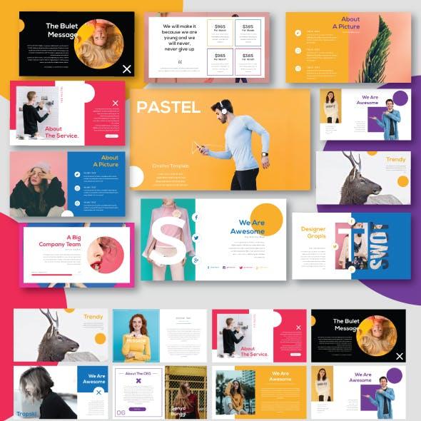 Pastel Modern Minimal Powerpoint