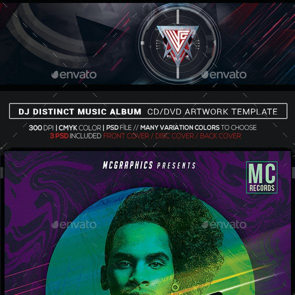 party and psd cd dvd artwork templates from graphicriver