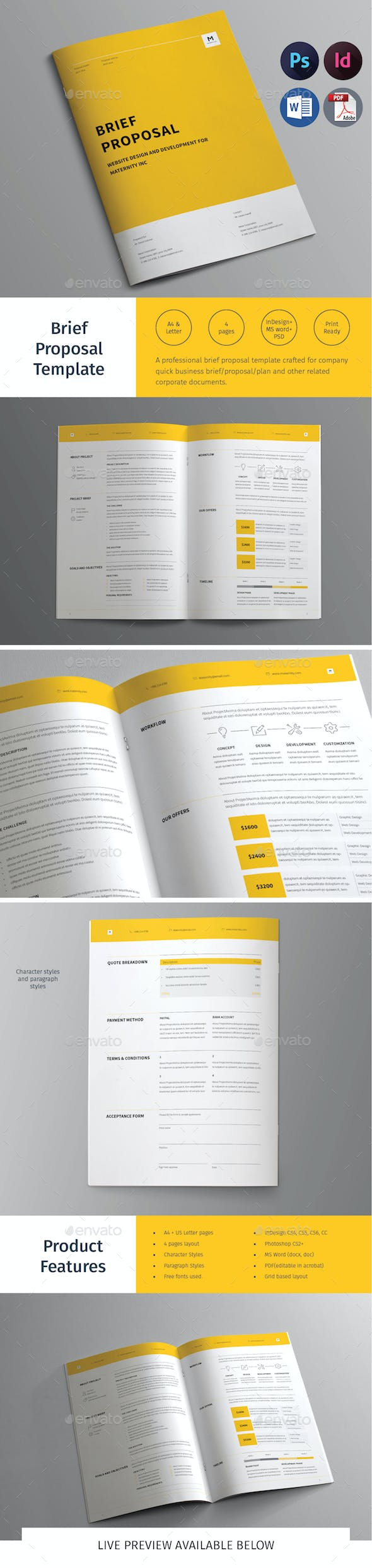 brief proposal template by tontuz graphicriver