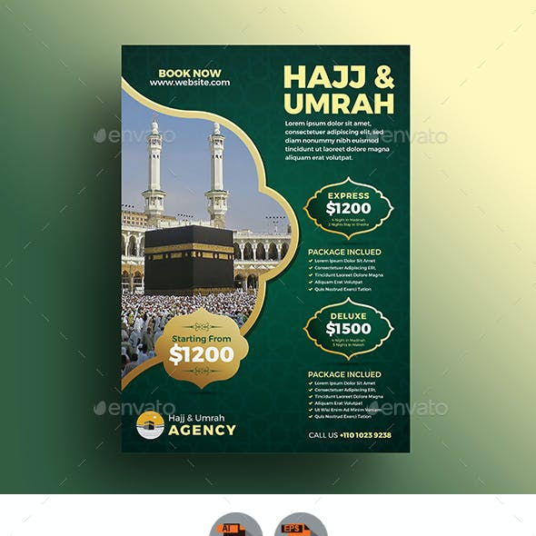 Umrah Banner: Umrah Graphics, Designs & Templates From GraphicRiver