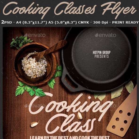 cooking class graphics designs templates from graphicriver