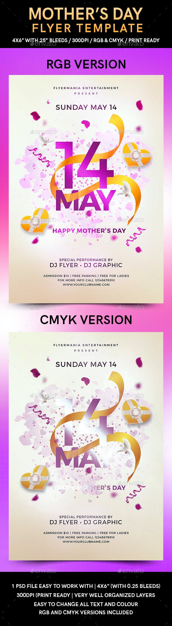 mother s day flyer template by flyermania graphicriver