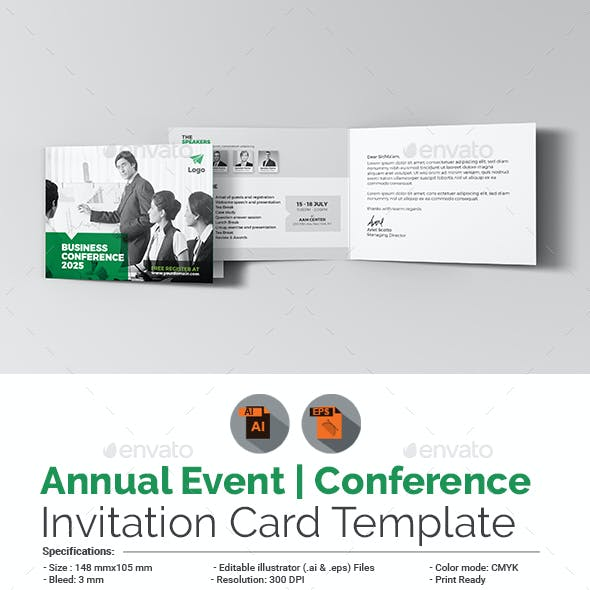 Invitation Card Template Graphics Designs Templates With