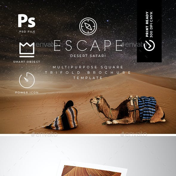 square trifold brochure template by rocketpixel graphicriver