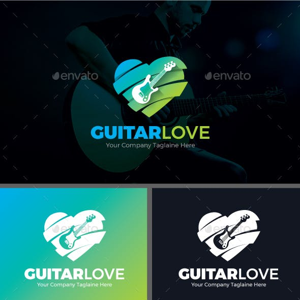 acoustic guitar graphics designs templates from graphicriver