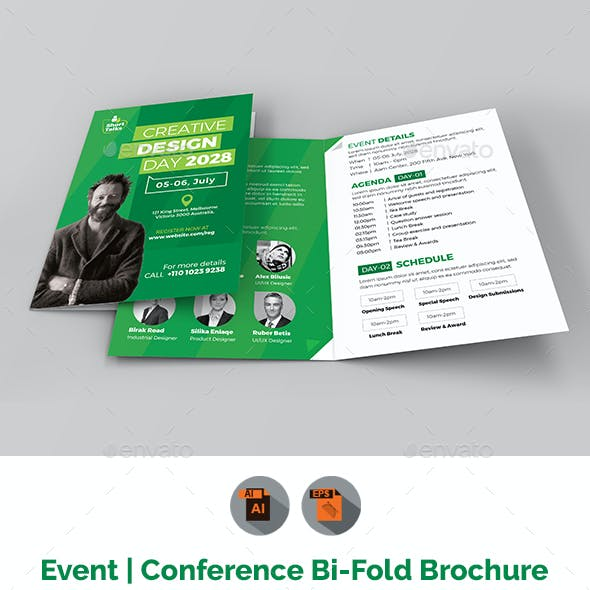 conference brochure graphics designs templates