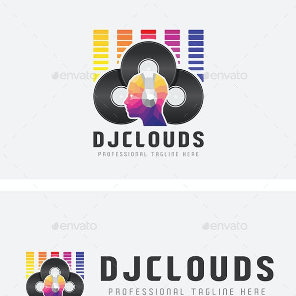 dj logo graphics designs templates from graphicriver
