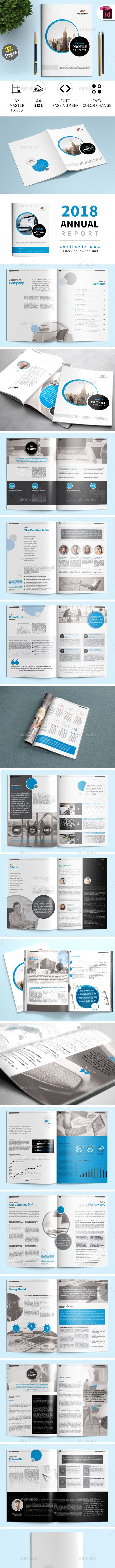 Company Profile Indesign Template By Nzaman Graphicriver