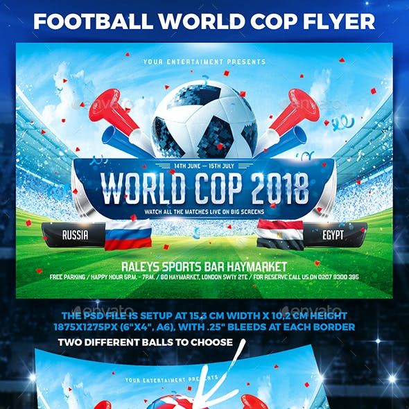 Sporting event flyer templates from graphicriver page 7 football world cop flyer vol1 maxwellsz