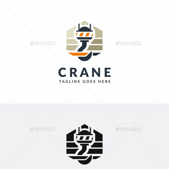 crane logo templates from graphicriver